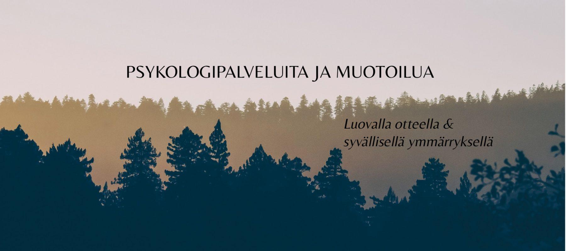 Taide- ja työpsykologi Marjukka Laurola